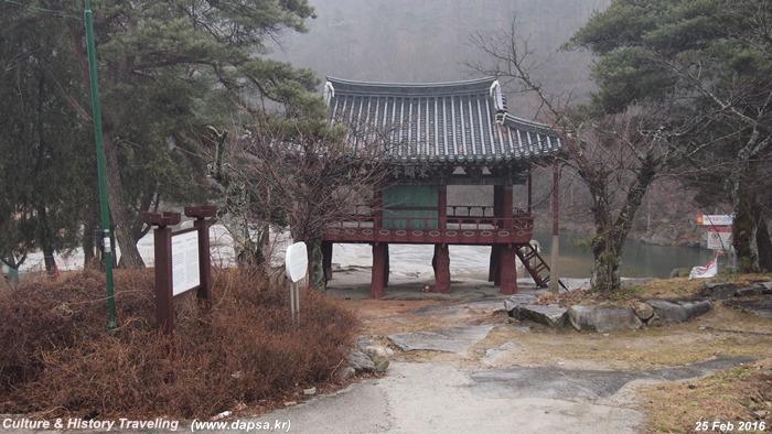 함양 화림동계곡 동호정