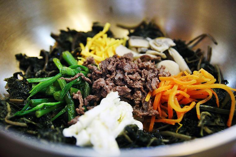 곤달비비빔밥 곤달비 비빔밥 경주맛집 경주비빔밥맛집