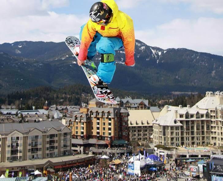 휘슬러 World Ski & Snowboard Festival 입니다