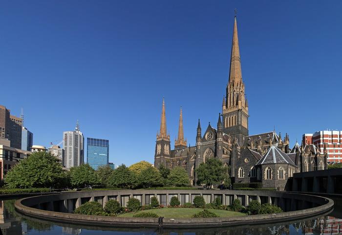 세인트 패트릭 성당 St. Patrick's Cathedral 멜버른 외관
