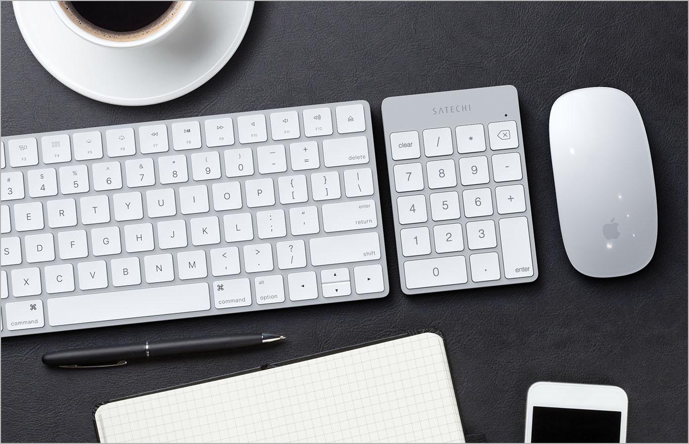 Satechi, 맥북과 잘 어울리는 블루투스 숫자 키패드 출시