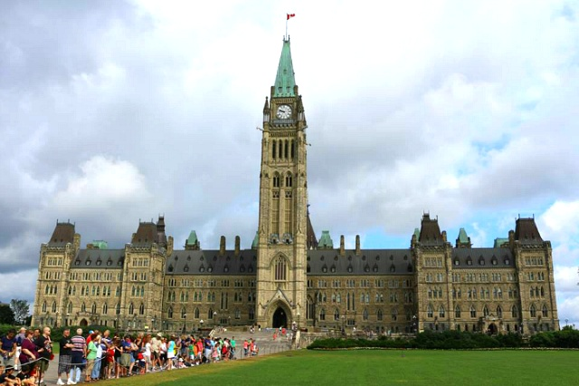 캐나다 국회의사당 본관 Parliament of Canada Centre Block