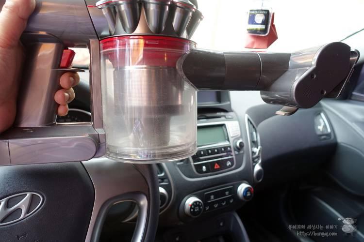 다이슨, V8, 플러피, 후기, 자동차, 실내세차, 무선청소기