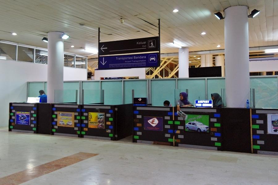 롬복 공항 택시