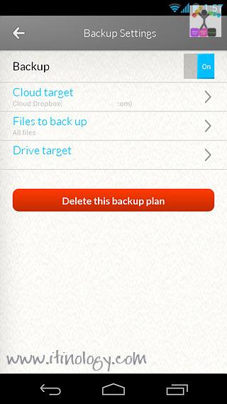 Seagate Dashboard and Backup APP