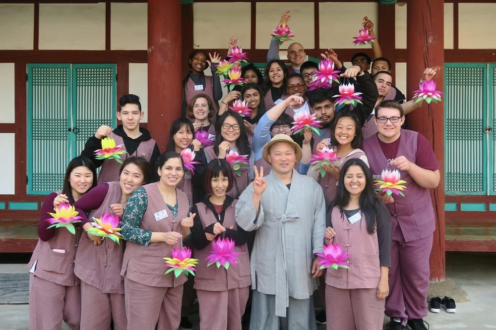 미국 청소년대사 선운사에서 불교문화체험