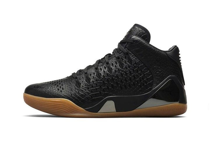 Kobe Black Shoes With Crosses