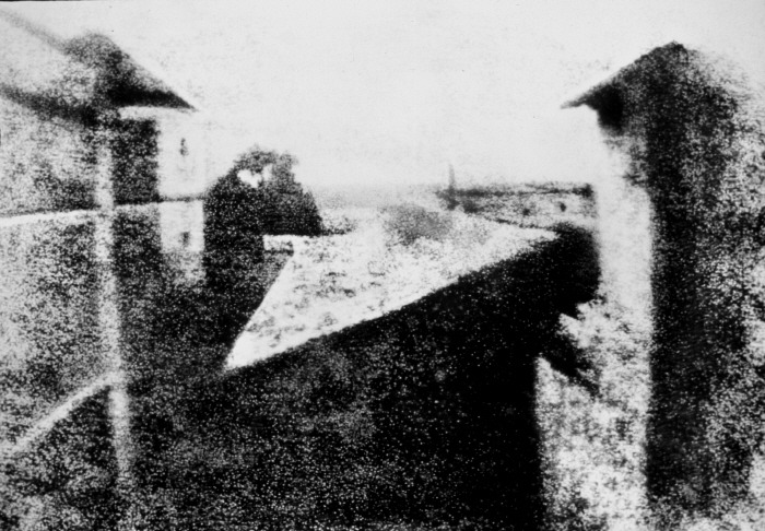View from the Window at Le Gras, the first photo
