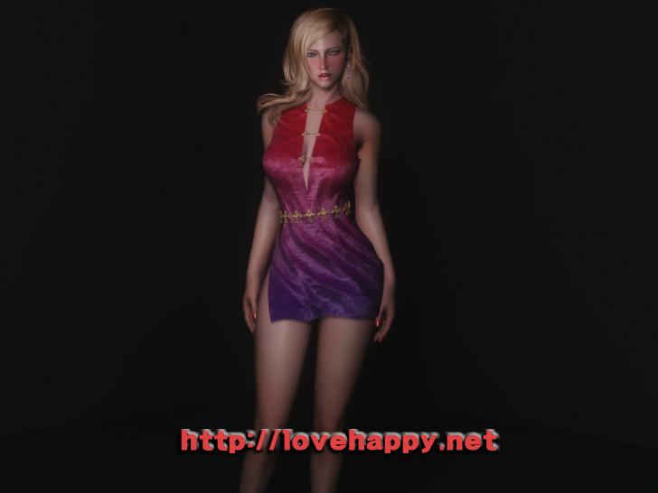 스카이림 의상 - 로브 의상 magician dress clothes skyrim mod 002