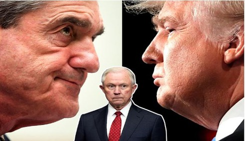트럼프 특검서 손뗀 법무장관에 즉각수사중단 요구 파문