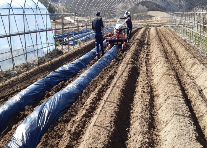 임실군, 고령·영세농 농기계작업단 큰 호응