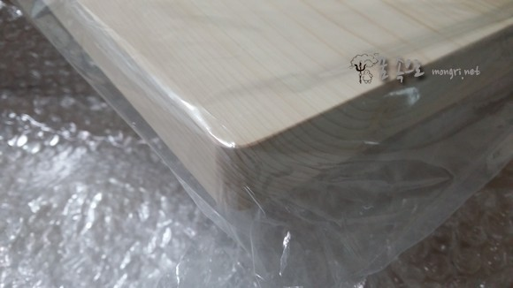 치드숲 편백나무 통도마 모서리
