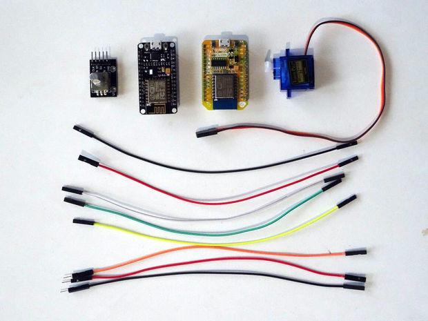 ESP8266 and Visuino: Control Servo Remotely over Wi-Fi with