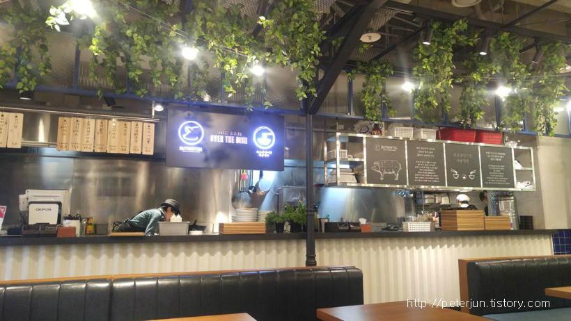 속초중앙시장 해물짬뽕 식당