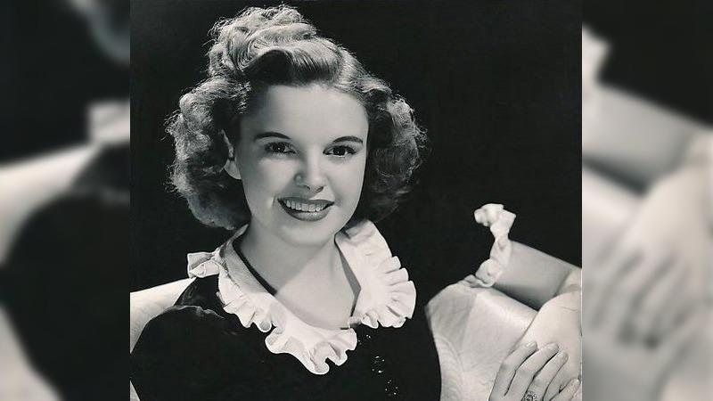 사진: 미국 영화 협회에서 선정한 역대 10대 여성 스타  주디 갈란드.