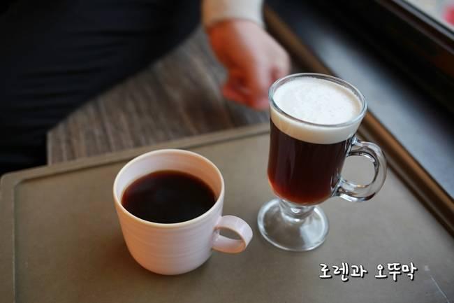 핸드드립 커피와 아이리쉬