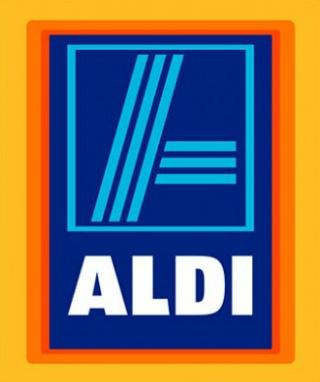 슈퍼마켓 알디의 로고 입니다.