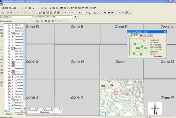 사용자 위치 판단 Zone-L