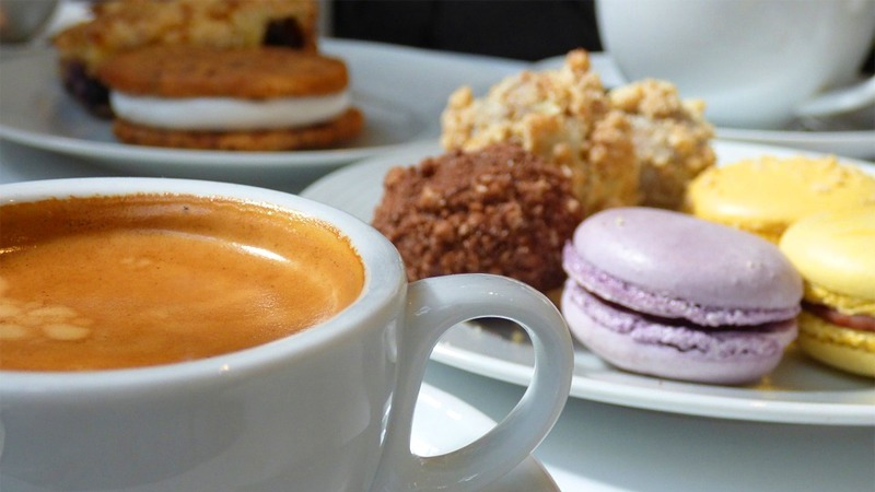 사진: 간단히 말해서 커피, 사탕 등 식사 후 입가심용으로 먹는 모든 음식이 디저트이다.