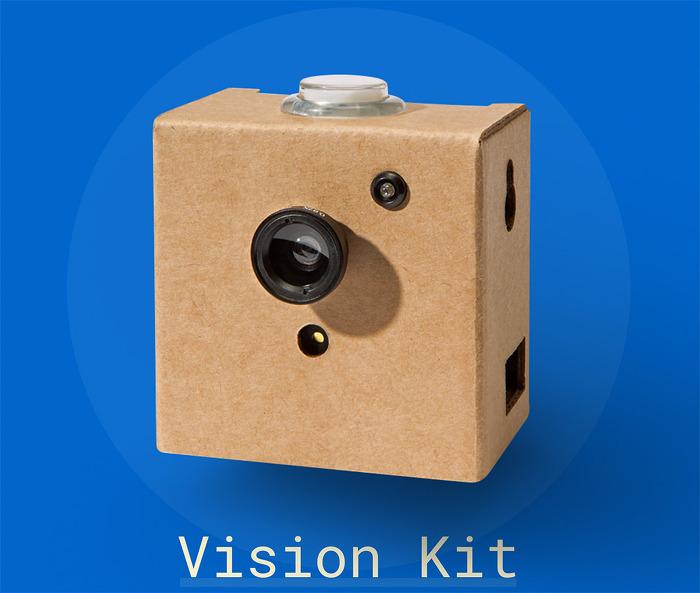 인공신경망 기술을 이용한 이미지 인식 키트_비전킷 Vision Kit
