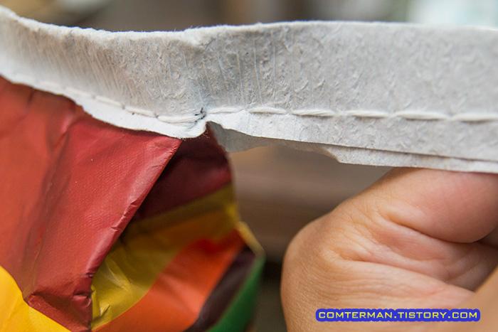 쌀포대 종이끈 매듭