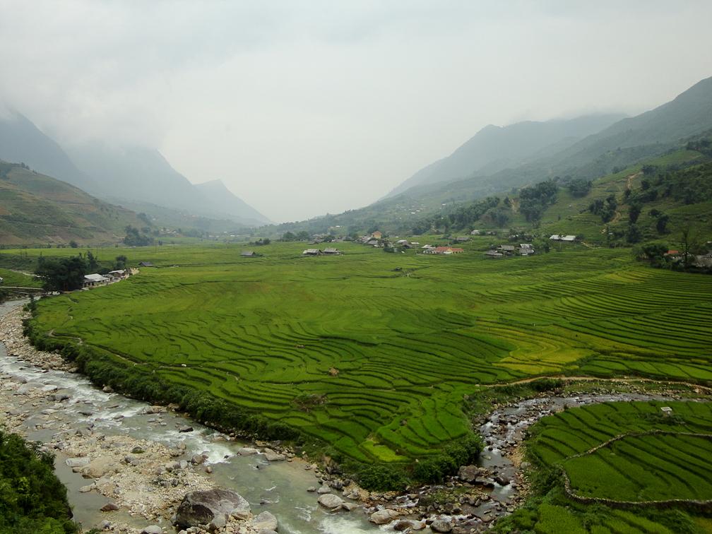 [베트남] 다랭이논과 고산족 마을 돌아보기  타반 (Ta Van)